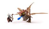 Грозокрыл и Валка в маске, Дракон и всадник. Как приручить дракона. Набор де-люкс, Spin Master, Грозокрыл и Валка в боевой маске NEW от Как приручить Дракона 2 (How to teach dragon 2)