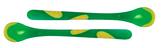 Термоложки цветные с термочувствительным краем (2 шт.в упаковке) 0+, две зеленые NEW от NUBY (Нуби)