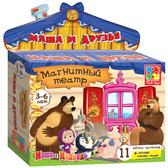 Маша и друзья - магнитный театр (VT3206-18), Vladi Toys NEW от Vladi Toys (ВладиТойс)