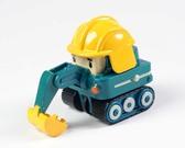Экскаватор Поки - металлическая машинка, 6 см, POLI NEW от Robocar Poli(Поли Робокар)