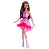 Кукла Barbie Гламурная вечеринка, Barbie, Mattel, Розово-красная