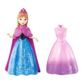 Мини-кукла Анна (2-е платье в комплекте), Холодное сердце, Disney Frozen, Mattel, Анна от Mattel