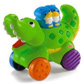 Веселые зверята, инерционная игрушка в ассортименте. Fisher-Price, Крокодил NEW от Fisher-Price (Фишер-Прайс)