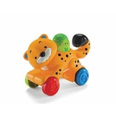 Веселые зверята, инерционная игрушка в ассортименте. Fisher-Price, Гепард NEW от Fisher-Price (Фишер-Прайс)