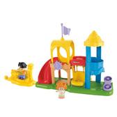 Игровой комплект Площадка серии Маленькие человечки, Fisher-Price NEW от Fisher-Price (Фишер-Прайс)
