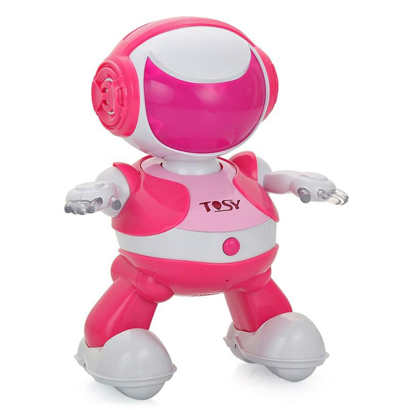 Интерактивный робот Robotics Discorobo Руби (танцует, рус. язык), TOSY NEW