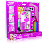 Набор для творчества, восковые мелки и трафареты. Barbie. Mattel NEW от Barbie (Барби)