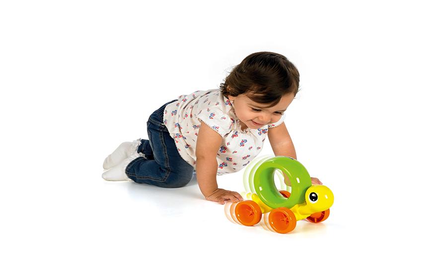 Проворная черепашка - развивающая игрушка, TOMY NEW