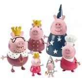 Королевская семья, 6 фигурок, серия Принцесса. Peppa NEW