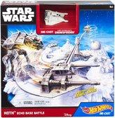 Игровой набор Звездные Войны Hot Wheels в асс. (2), Битва за базу Эхо NEW