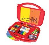 Набор для творчества в удобном красном чемоданчике, Crayola, красный NEW от Crayola (Крайола)