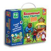 Игра настольная «Волшебный мир театра. Теремок VT 3207-03 NEW от Vladi Toys (ВладиТойс)