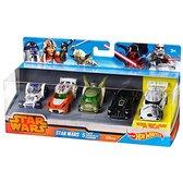 Набор из 5-ти машинок-героев серии Star Wars, Hot Wheels, Mattel NEW от Hot Wheels (Хот Вилс)