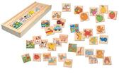 Adatto - что к чему относится, деревянная игра. Bino NEW от BINO(Бино)