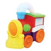 Развивающая игрушка - МУЗЫКАЛЬНЫЙ ПАРОВОЗ (на колесах, свет, звук) от Kiddieland (Киддиленд)