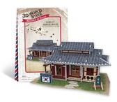 Трехмерная головоломка-конструктор, Южная Корея Ресторанчик. CubicFun NEW