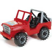 Мини-джип красный, Игрушечная машина, М1:16, Bruder, красный NEW от Bruder(Брудер)