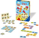 Ravensburger Настольная игра детская 3-в-1 Винни, 22192 NEW