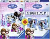 Ravensburger Набор картонных пазлов с аксессуарами-Memory Дисней-3в1 Холодное сердце, 22311 NEW