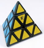 Игрушка-головоломка Dayan Pyraminx;black от Dayan