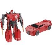 Трансформер Sideswipe - один шаг, серия Robots In Disguise, Hasbro, Sideswipe красный