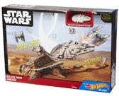 Игровой набор Hot Wheels Star Wars Побег с планеты JAKKU, Mattel NEW