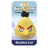 Мяг.игр. - подвеска на рюкзак ANGRY BIRDS (птичка желтая, 8см)