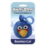 Мяг.игр. - подвеска на рюкзак ANGRY BIRDS (птичка синяя, 8см)