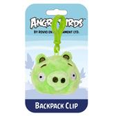 Мяг.игр. - подвеска на рюкзак ANGRY BIRDS (свинка, 8см)
