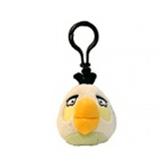 Мяг.игр. - подвеска на рюкзак ANGRY BIRDS (птичка белая, 8см)