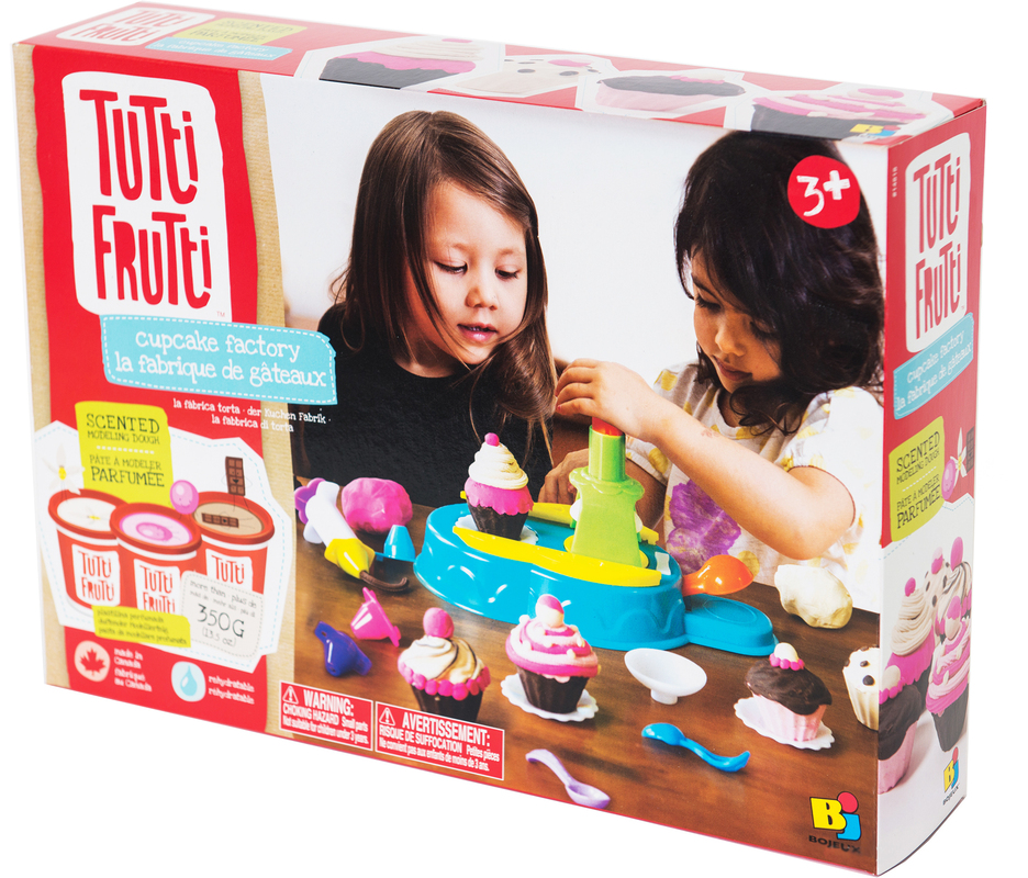 Фабрика пирожных, набор для лепки, TuTti FruTti NEW