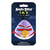 Мяг.игр. - подвеска на рюкзак ANGRY BIRDS SPACE (птичка лазерная, 8см)