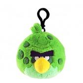 Мяг.игр. - подвеска на рюкзак ANGRY BIRDS SPACE (птичка зеленая, 8см)