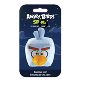 Мяг.игр. - подвеска на рюкзак ANGRY BIRDS SPACE (птичка ледяная,  8см)
