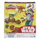 Игровой набор пластилина Транспортные средства Звездные войны, Play Doh, Mission on Endor NEW