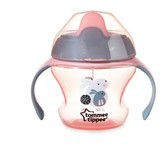Первая чашка-непроливайка розовая, от 6 мес. 150 мл.Tommee Tippee, розовая NEW от Tommee Tippee(Томми Типпи)