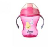 Чашка-непроливайка розовая, от 9 мес., 230 мл. Tommee Tippee, розовая NEW от Tommee Tippee(Томми Типпи)