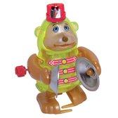 Обезьяна с тарелками, заводная игрушка California Creations, ZWindUps, Зеленая обезьяна с тарелками NEW от ZWindUps