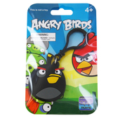 Брелок на рюкзак ANGRY BIRDS (птичка черная)