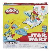 Игровой набор пластилина Люк Скайуокер и Снежный Штурмовик, Звездные войны, Play-Doh, белый