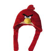 Мягк. игр. - шапка ANGRY BIRDS (красная)