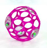 Мяч OBall с погремушкой 4 цвета в асс. , Розовый NEW от Bright Starts (Брайт Старс)