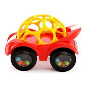 Развивающая машинка красно-желтая, Oball, Bright Starts, Красно-Желтая NEW от Bright Starts (Брайт Старс)