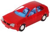 Игрушечная машинка авто-купе красная, Wader, красный NEW от Wader