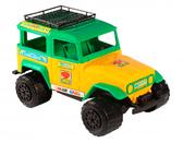 Джип - машинка, Wader, желто-зеленый NEW от Wader