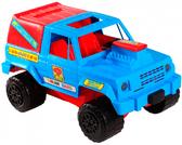 Джип - машинка, Wader, сине-красный NEW от Wader