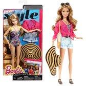 Кукла Барби Стильный отдых, Barbie, Mattel, купальник с цветочным принтом NEW