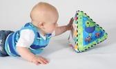 Развивающая игрушка для малышей Пирамидка с зеркалом от LAMAZE (Ламазе)