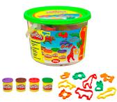 Ведерко пластилина с формочками Сафари, Play-Doh, сафари