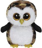 Мягкая игрушка Совенок Оливер, TY Beanie Boos от Ty (Ту)